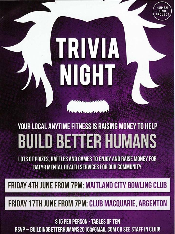 Building Better Humans Trivia Fundraiser Summit Business Support